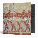 Alivio que representa desfile en honor de Hathor