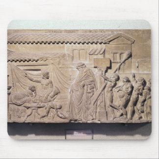 Alivio que representa Dionysus en el hogar de Mouse Pads