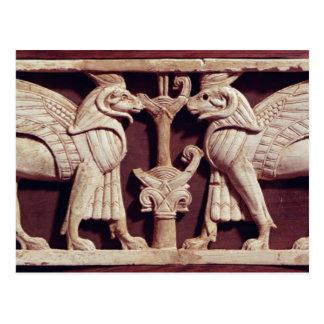Alivio que representa dos griffons, de Arslan Tash Tarjetas Postales