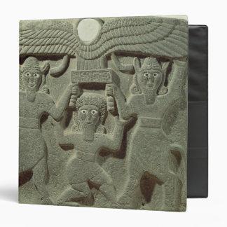 """Alivio que representa Gilgamesh entre dos Carpeta 1 1/2"""""""