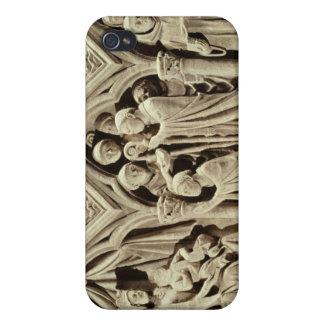 Alivio que representa la presentación de los monje iPhone 4/4S carcasas