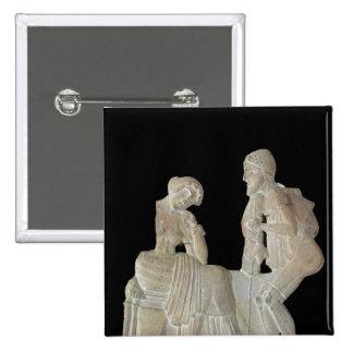 Alivio que representa Odiseo y Penélope Pins
