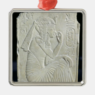 Alivio que representa Ramesses II como niño Ornamentos De Navidad