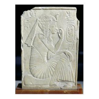 Alivio que representa Ramesses II como niño Tarjetas Postales