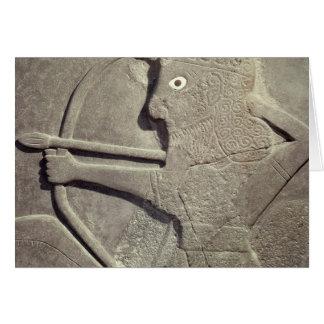 Alivio representando cazador, de Diga-Halaf, Tarjeta De Felicitación