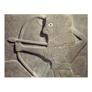 Alivio representando cazador, de Diga-Halaf, Tarjeta Postal