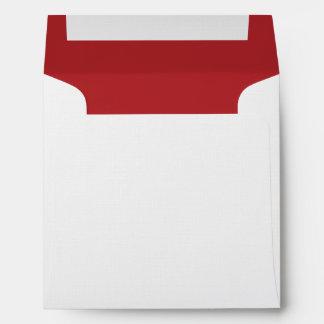 Alizarin Crimson Envelopes