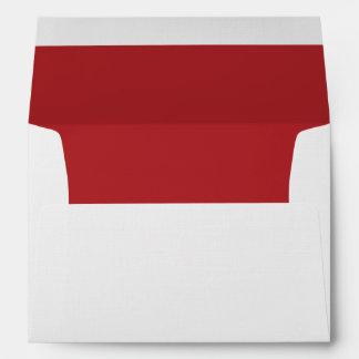 Alizarin Crimson Envelope