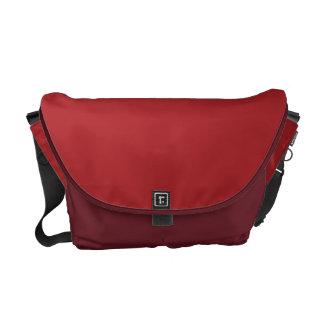 Alizarin Crimson Courier Bag