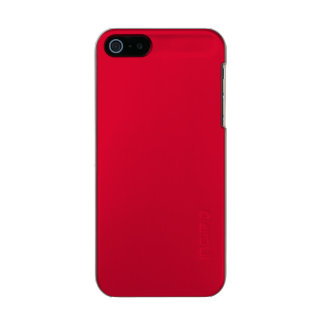 ALIZARIN CRIMSON RED (solid color) ~ Metallic Phone Case For iPhone SE/5/5s