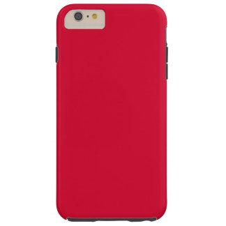 ALIZARIN CRIMSON RED (solid color) ~ Tough iPhone 6 Plus Case
