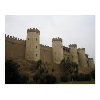 Aljaferia Castle, Zaragoza, Spain Postcard