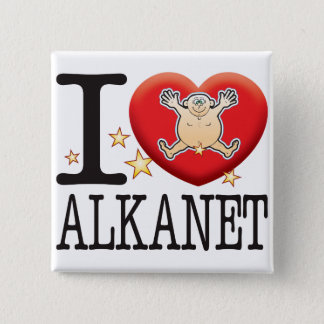 Alkanet Love Man Button
