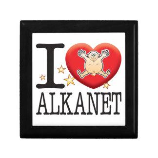Alkanet Love Man Jewelry Box