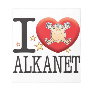 Alkanet Love Man Notepad