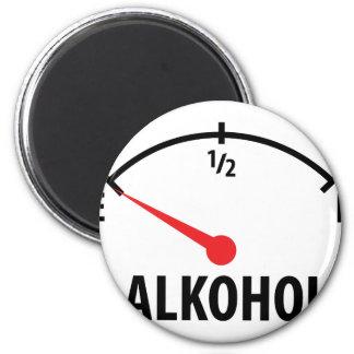 Alkohol Anzeige leer icon Magnet