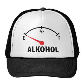 Alkohol Anzeige leer icon Trucker Hat