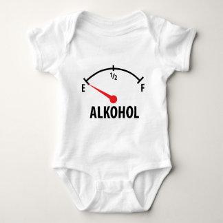 Alkohol Tankanzeige Baby Bodysuit