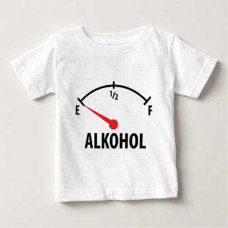 Alkohol Tankanzeige Baby T-Shirt