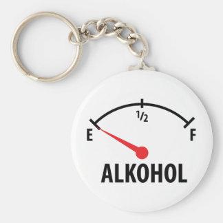 Alkohol Tankanzeige Keychain