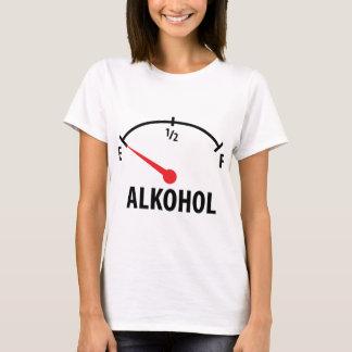 Alkohol Tankanzeige T-Shirt