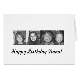 all4project, Happy Birthday Nana! Greeting Cards