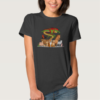 All 12 Chinese Zodiac Animals Together Shirt