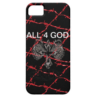 ALL 4 GOD iPhone SE/5/5s CASE