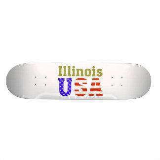 All 50 States USA Skateboard. Skateboard Deck