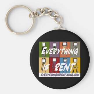All 8 Stick Figures Keychain
