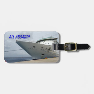 All Aboard Bag Tag