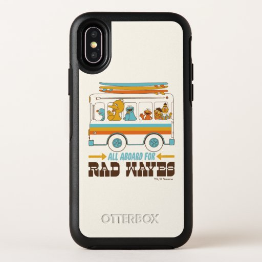 All Aboard for Rad Waves OtterBox Symmetry iPhone X Case