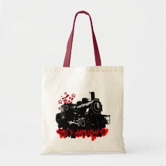 """""""All Aboard"""" Painted Tote Tote Bag"""