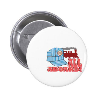 All Aboard! Pinback Button