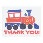 All Aboard Thank You Postcard