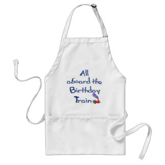 All Aboard the Birthday Train Apron