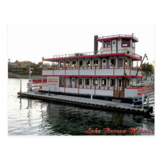 ALL ABOARD THE DIXIE BELLE… POSTCARD