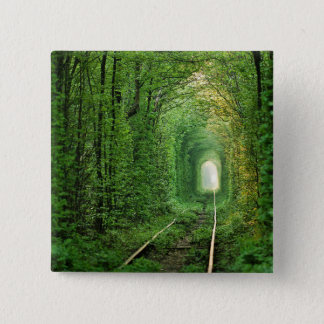 All aboard the Forest Express Button