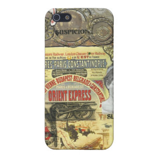 All Aboard! The Orient Express Case For iPhone SE/5/5s