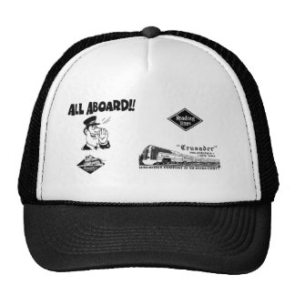 All Aboard The Reading Railroad Crusader Trucker Hat