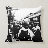 All Aboard the Train! Pillows