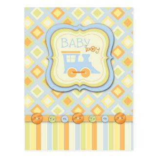 All Aboard! Train Baby Shower Advice Card