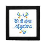 All About ALGEBRA Gift Boxes