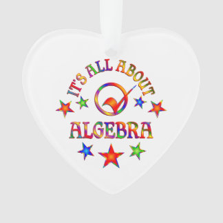 All About Algebra Ornament