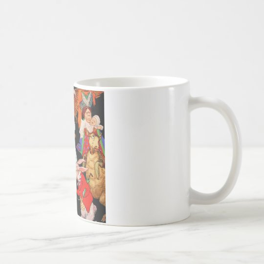 ALL ABOUT ALICE IN WONDERLAND COFFEE MUG