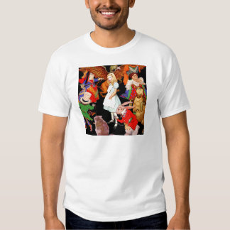 ALL ABOUT ALICE IN WONDERLAND TEE SHIRT