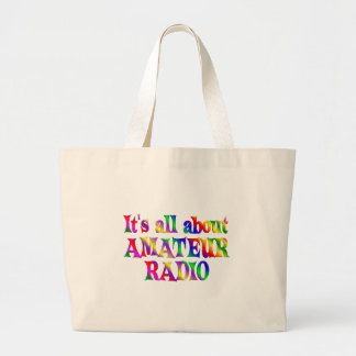 All About Amateur Radio Tote Bags