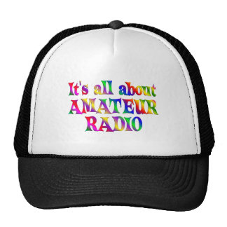 All About Amateur Radio Trucker Hat