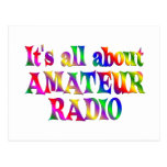 All About Amateur Radio Postcard
