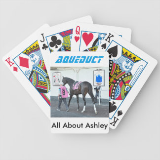 All About Ashley Bicycle Playing Cards